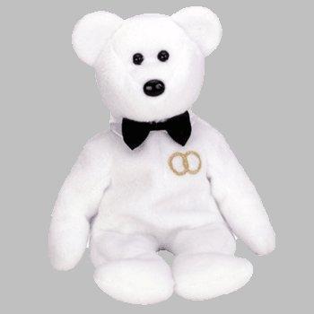 TY BEANIE Baby MR. the GROOM Bear - 1