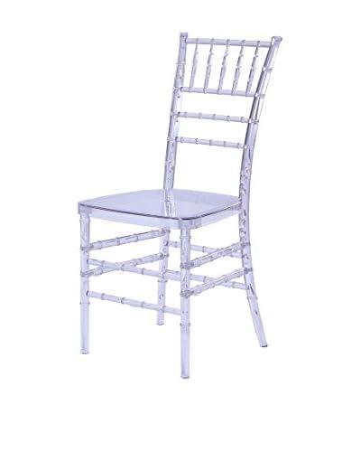 Manhattan Living Wadna Dining Chair, Clear