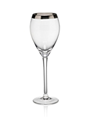Luxe Banded Wine Glass