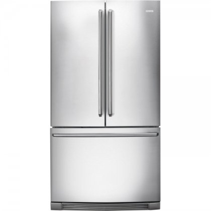 Electrolux EI23BC30KS IQ-Touch 22.6 Cu. Ft. Stainless Steel Counter Depth French Door Refrigerator - Energy Star