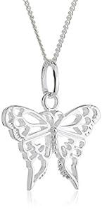 Dew SP98813HP006 - Collar de mujer de plata, 46 cm