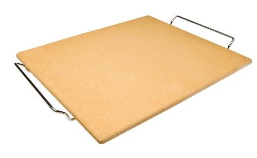 Ibili-784340-Piedra-para-pizza-de-cermica-rectangular-405-x-355-x-1-cm
