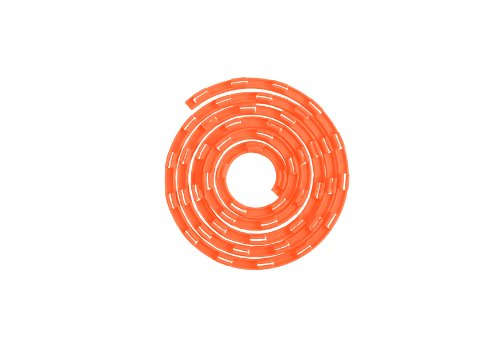 Limax The Cable-Tidy, Cord Wrap For Chargers, Headphones, Iphone, Samsung, Nexus, Etc... (Orange)