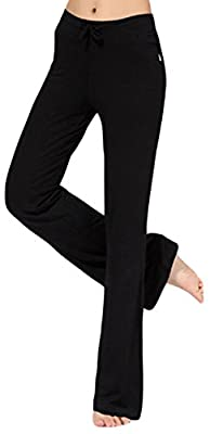 AvaCostume Womens Soft Modal Yoga Sports Dance Fitness Pants