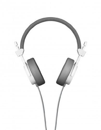 AIAIAI Capital On Ear Cuffia con microfono w/bianco alpino-IP44testato per resistere alla pioggia, neve, hail e polvere
