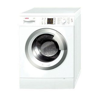 Bosch WAS24460UC Axxis 2.2 Cu. Ft. White Stackable Front Load Washer - Energy Star