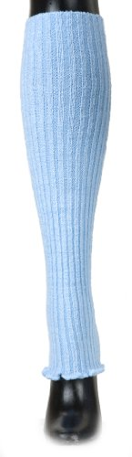 Baby Blue Leg Warmer by KD dance Makers of the Finest Knit Dancewear in the World, Doubles as an Arm Warmer / Legwarmer, Knit Rib Stretch Legwarmer - Made In America