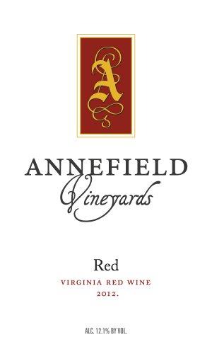 2012 Annefield Vineyards Red 750 Ml