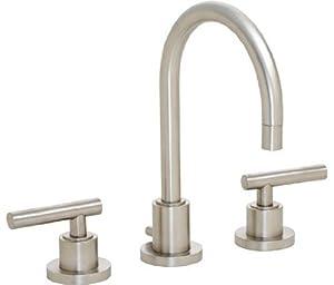 California Faucets Faucets 6602 California Faucets Widespread Faucet Polished Chrome