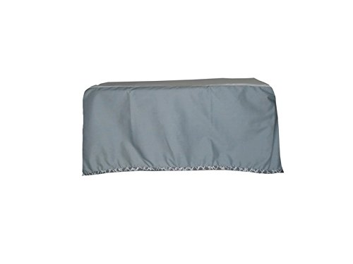 Baby Doll Cobblestone Crib Dust Ruffle, Grey