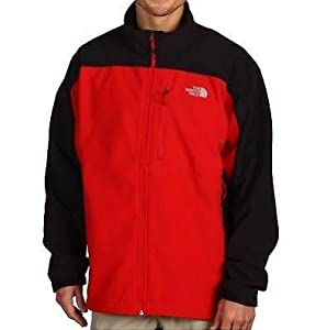 The North Face Apex Bionic Jacket - Men's red/tnf black small