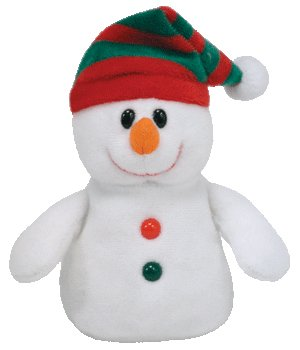 TY Jingle Beanie Baby - CHILLER the Snowman (Walgreens Exclusive)