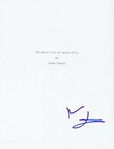 The Secret Life of Walter Mitty autographed script