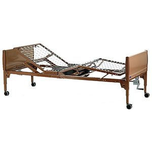 Value Care Semi-Electric Bed Package With Vc5310 Semi-Electric Bed, 6630 Half Length Bed Rail And 5185 Innerspring Mattress [Each-1 (Single)]