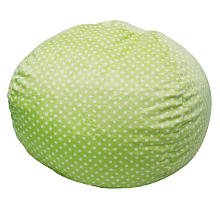 co Kids Bean Bag, Green Dots from Newco Kids