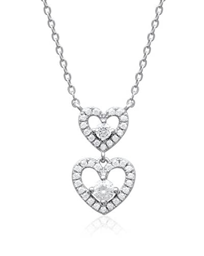 L'ATELIER PARISIEN Halskette 87165045B Sterling-Silber 925