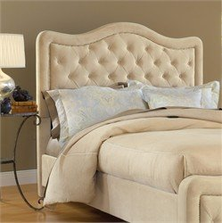 Hillsdale Furniture 1566HKRT Trieste Headboard with Rails, King, Buckwheat
