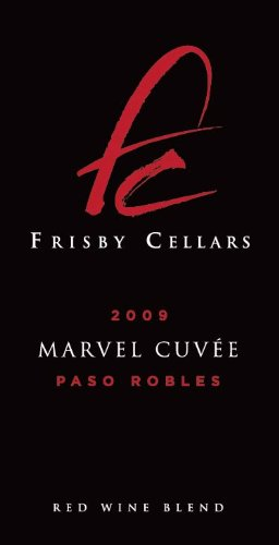 2009 Frisby Cellars Marvel Cuvee Red Blend Paso Robles 750 Ml