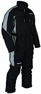 HMK Men's Insulated Special One Piece Suit (Black, Large)