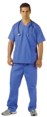 Costumes For All Occasions UR29424XXL Blue Scrubs Adult Xxl 48-50