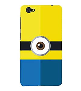 Cartoon Eye Design 3D Hard Polycarbonate Designer Back Case Cover for VIVO X5 PRO :: VIVO X5PRO