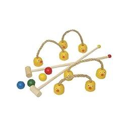 Kids Duck Croquet Set