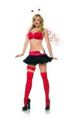 Lady Bug Costume - Medium/Large - Dress Size 8-12
