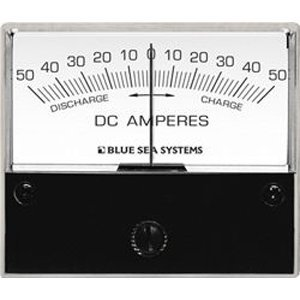 "Brand New Blue Sea Systems - Blue Sea Ammeter Dc 50-0-50A ""Product Category: Electrical/Meters"""