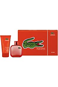 Eau De Lacoste Rouge Gift Set