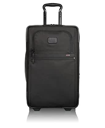 Tumi Alpha 2 Frequent Traveler Wheel Carry-On, Black, One Size