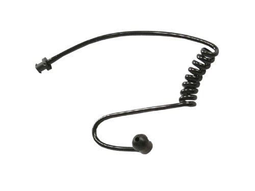 10 Pack Black Colored Replacement Coil Audio Tube For Two-Way Radio Audio Kit - Crystal Clear Communications Brand