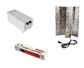Hydroponic 400 watt omega metal cased ballast and kit