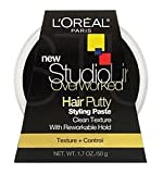 L'Oreal Paris Studio Line Overworked Hair Putty, 1.7 Ounce