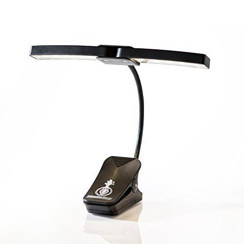 MAESTRO GEAR 10 LED Clip On Music Stand Light / Orchestra Lamp (Light Stand 10 Feet compare prices)