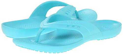 Crocs Kadee Flip Flop Women's Sandal/Slippers/Flip-Flop Footwear - Espresso flip flop shaped stationery box 1pc
