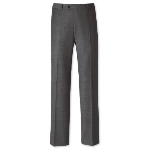 Charles Tyrwhitt Grey sharkskin classic fit suit trouser (40W x 34L)