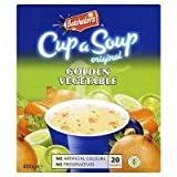 Batchelors Cup a Soup Original Golden Vegetable 20 Sachets 400g