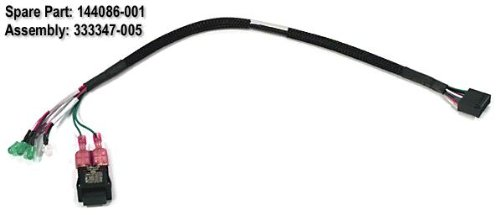 Hp 144086-001 Power On /Standby Switch With Cable And Led Indicators