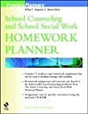 img - for School Counseling & School Social Work Homework Planner (02) by Knapp, Sarah Edison [Paperback (2002)] book / textbook / text book