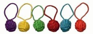 Hiya Hiya Yarn Ball Stitch Markers (6Pk)