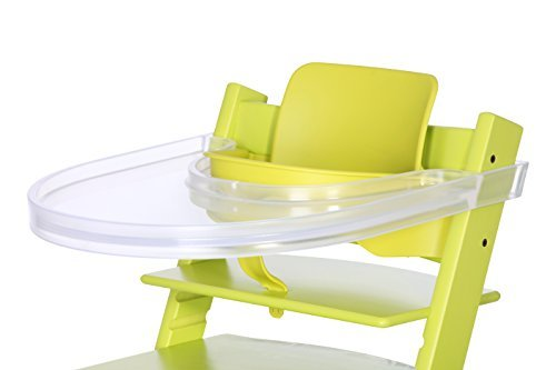 Playtray tavolo per il stokke tripp trapp trasparente for Seggiolone stokke tripp trapp amazon