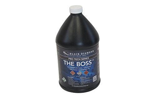The boss commercial grade cleaner and degreaser for for Industrial concrete cleaner