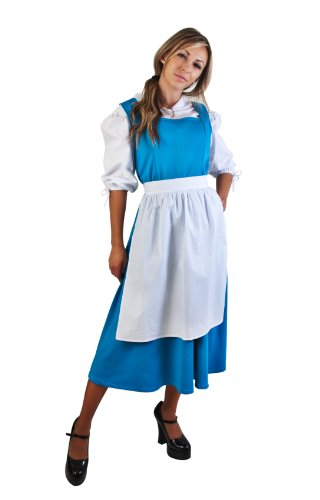 Adult Blue Beauty & the Beast Costume (Size: Standard 8-12)