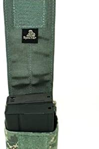 Specter Gear 1-2 Modular 7.62NATO 20rd. Mag Pouch, Holds 2 - Black, 445 BLK