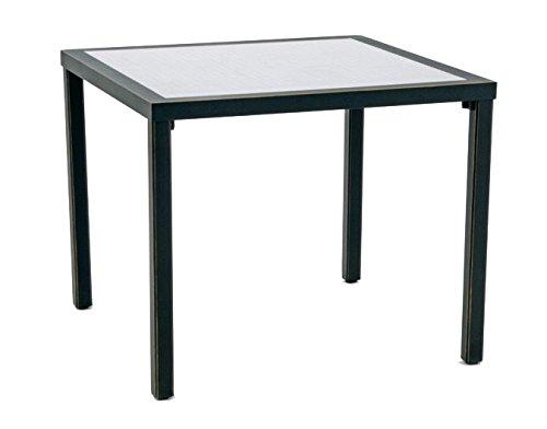 GarVida Gartentisch Oronero Esstisch Garten Terrasse Tisch Gartenmöbel schwarz jetzt bestellen