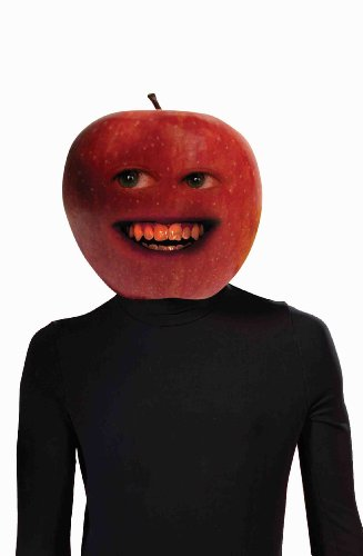 Forum Annoying Orange Midget Apple Mask Latex Costume