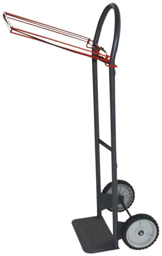 Milwaukee Hand Trucks 40620 Flow Back Handle Truck With Poly Bag Holder And 8-Inch Semi Pneumatic Tires front-549570
