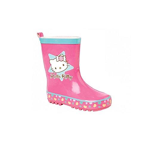 Hello Kitty - Wellingtons da lavoro da ragazza' , Rosa (rosa), 26