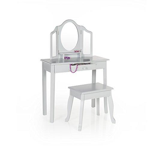 Guidecraft-Vanity-and-Stool-Childrens-Furniture