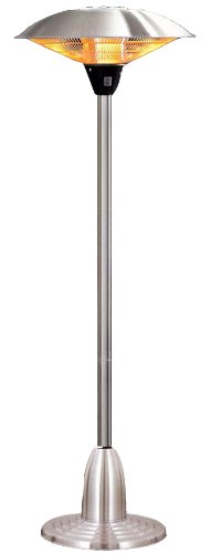 Free Standing Electric Halogen 2.1kw Patio Heater